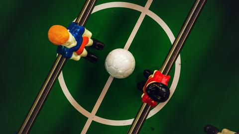 Tischfussballfeld